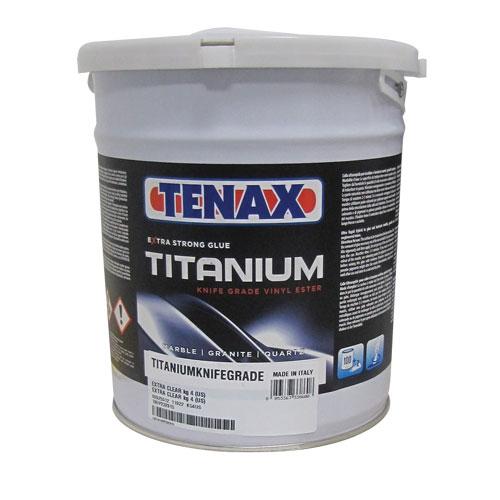 Tenax Titanium, Vinyl Ester, Marble Glue, Quartz Glue, White