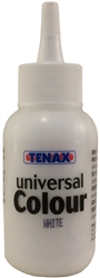 Tenax Universal Color White 2.5 oz Part # 1H3584WHITE