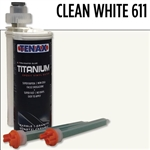 Tenax Titanium Extra Rapid Cartridge Glue #IRTCLEANWHITE