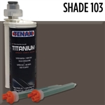 Tenax Titanium Extra Rapid Cartridge Glue #IRTSHADE
