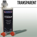 Tenax Titanium Extra Rapid Cartridge Glue #IRTTRANSPARENT