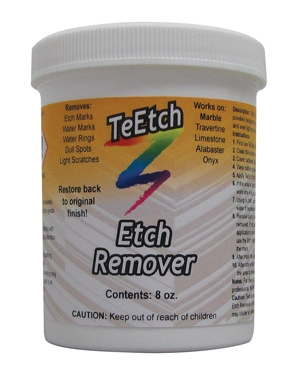 Natural Stone Etch Remover For Correcting Etches In Stone