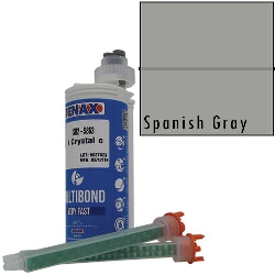 Part #GB311 Multibond Cartridge Spanish Gray 250 ML