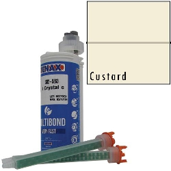 Part #GB410 Multibond Cartridge Custard 250 ML