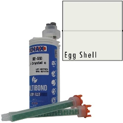 Part #GB605 Multibond Cartridge Eggshell 250 ML