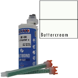 Part #GB612 Multibond Cartridge Buttercream 250 ML