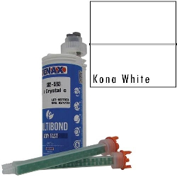 Part #GB613 Multibond Cartridge Kona White 250 ML