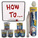 How To Information for StrongEdge Water Clear Epoxy