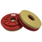 "Tenax 5"" Snail Lock Automated Edge Full Bullnose Polishing Wheel 120 W"