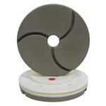 "Tenax 6"" Snail Lock Bullnose Quartz Automated Edge Polishing Wheel 60 W"
