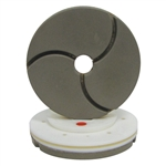 "Tenax 6"" Snail Lock Bullnose Quartz Automated Edge Polishing Wheel 80 W"